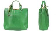 Verde prato per la borsa
