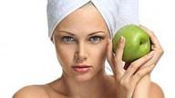 Maschera alla mela contro le rughe