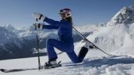 A St. Moritz la prima pista da sci per fare yoga
