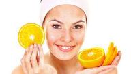 Maschera alle arance per il viso