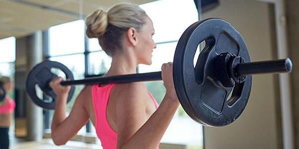 In forma con il fitness pump