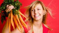 Maschera per i capelli alle carote