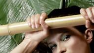 Il massaggio con le canne di bambù