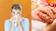 Un massaggio ai piedi contro il raffreddore!