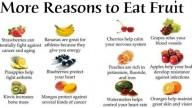 Ecco perché bisogna mangiare la frutta