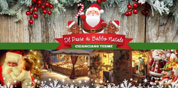 Casa Di Babbo Natale Chianciano.Chianciano Terme Paese Di Babbo Natale Wellness Farm