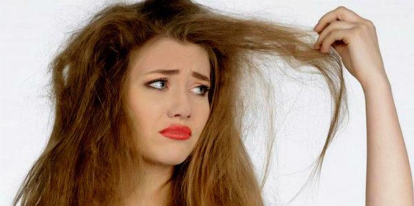 Rimedi naturali per i capelli secchi