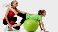 Il pilates aiuta i bambini in sovrappeso