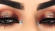 Makeup luminoso con trucco occhi halo