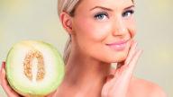 Maschera per il viso fai da te al melone