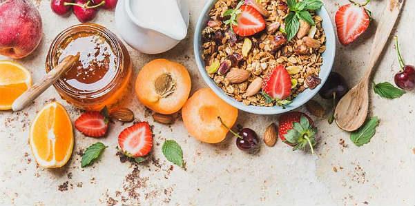 Una sana colazione con il farro soffiato