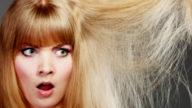 Una maschera naturale per capelli secchi