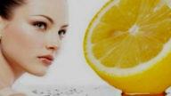 Maschera illuminante viso al limone