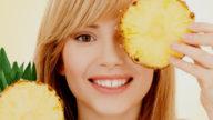 Maschera viso all'ananas: facile da preparare!