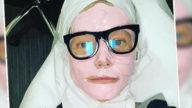 La maschera rosa di Gwyneth Paltrow per un effetto super glow