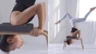Sedia a inversione yoga, perché usarla e come sceglierla